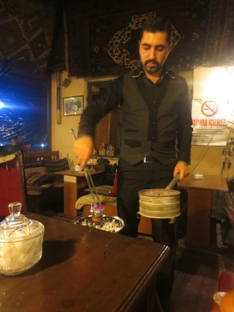 Cafe Marmara:                   Great Service - Turkish Waterpipe