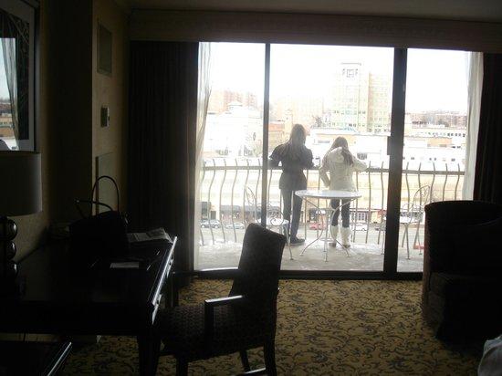 InterContinental Kansas City at the Plaza:                                     Nice sized balconies