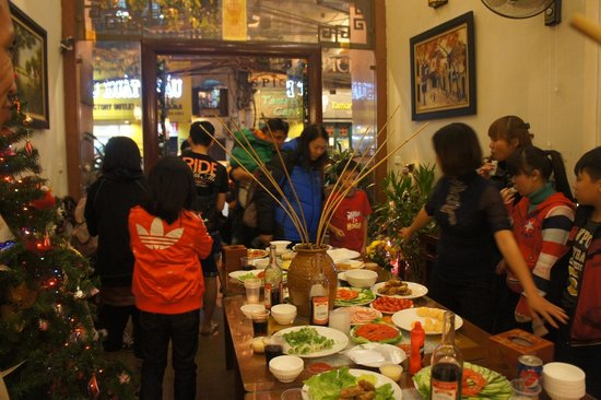Hanoi Guest House:                   Christimas Party