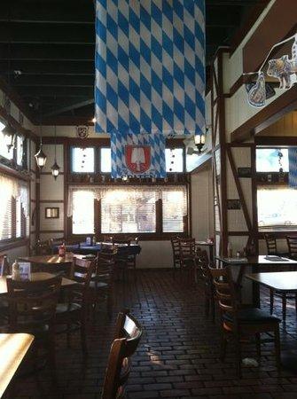 Helga's German Restaurant: inside