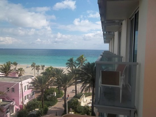 Hollywood Beach Marriott: view from room