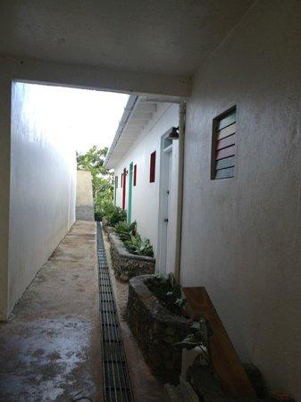Caribbean Dawn:                   Passageway