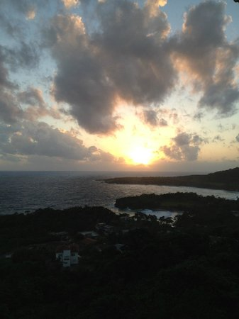 "Beautiful ""Caribbean Dawn"" from my balcony"