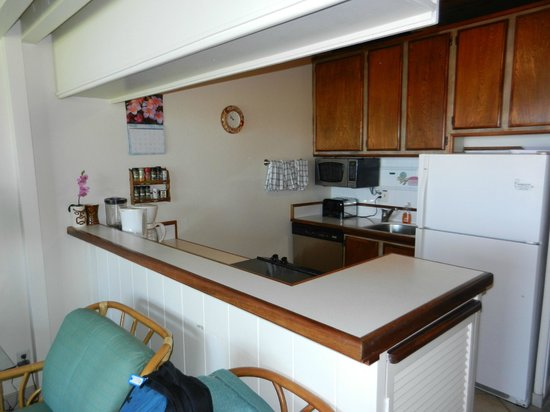 Polynesian Shores Condominium Resort:                   Unit #203 Kitchen