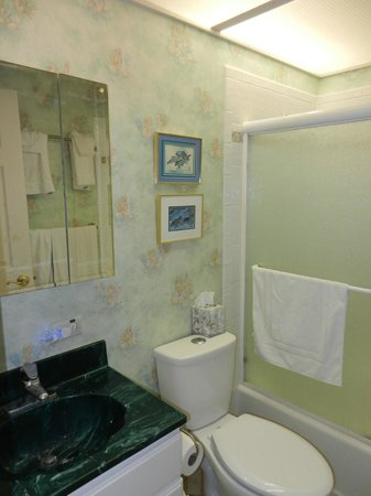 Polynesian Shores Condominiums:                   Unit #203 Downstairs Bathroom