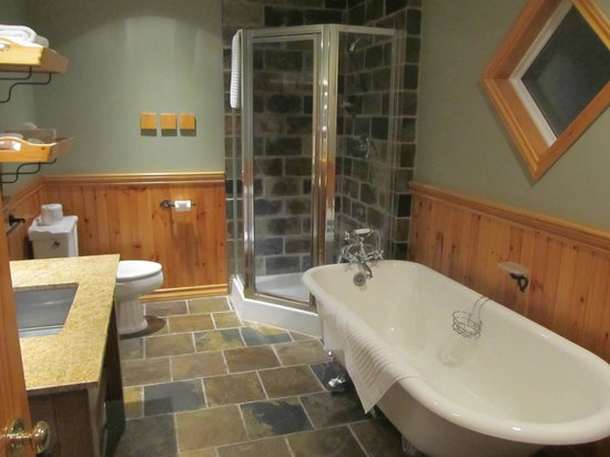 Buffalo Mountain Lodge:                                     heated slate flooring