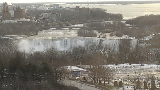 DoubleTree Fallsview Resort & Spa by Hilton - Niagara Falls: View during the day (winter)