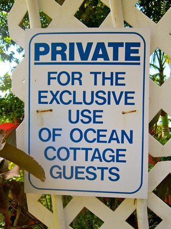Oasis Marigot: Privacy appreciated
