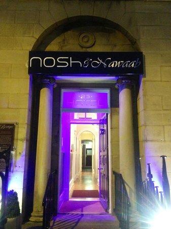 Nosh & Nawaab: outside