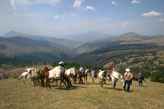 Skyline Guest Ranch and Guide Service: Headwaters of the Lamar River