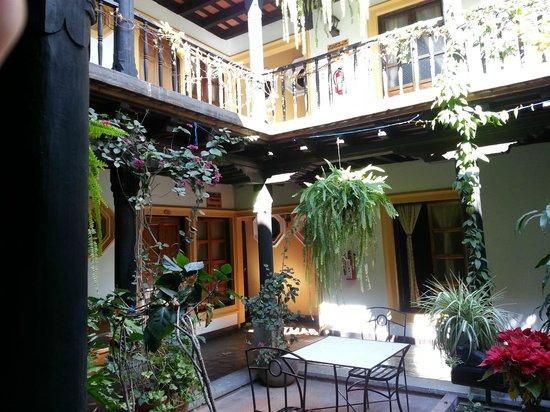 Hotel Posada Del Hermano Pedro: Area de las habitaciones