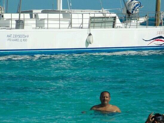Quintana Roo, Mexico:                   aguas cristalinas