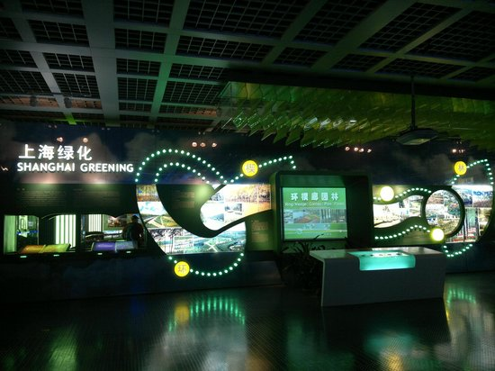 Shanghai Urban Planning Exhibition Hall: exhibition - the place is huge and not crowded very pleasant