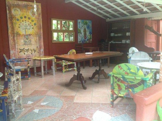Sítio São Francisco - Pousada de Charme:                   Lugar para desayunar