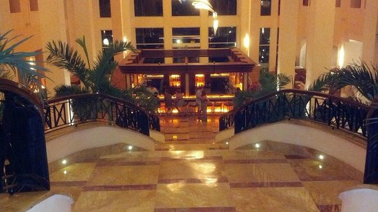 Excellence Playa Mujeres:                   Beautiful lobby view