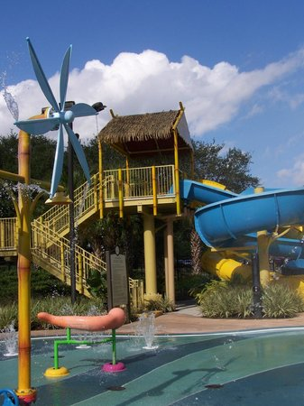 Renaissance Orlando at SeaWorld: my kids loved the waterslides