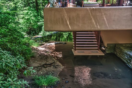 Fallingwater: Steps Down to a Natural Pool