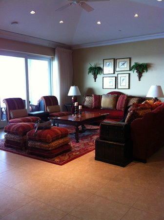Caribbean Club: Living room