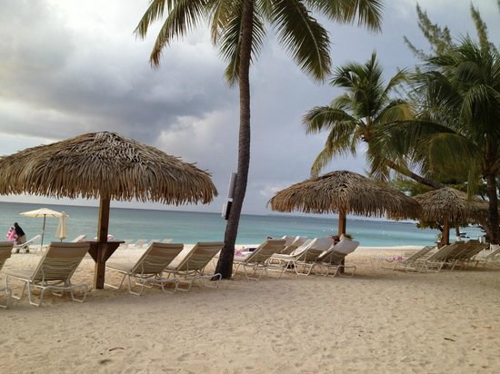 beach at Caribbean Club