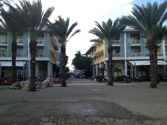 Caribbean Club: Camana Bay -shops,restaurant and movies