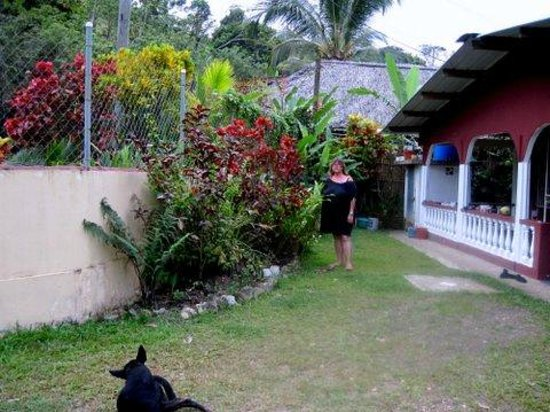 Annies Place Panama : Front yard