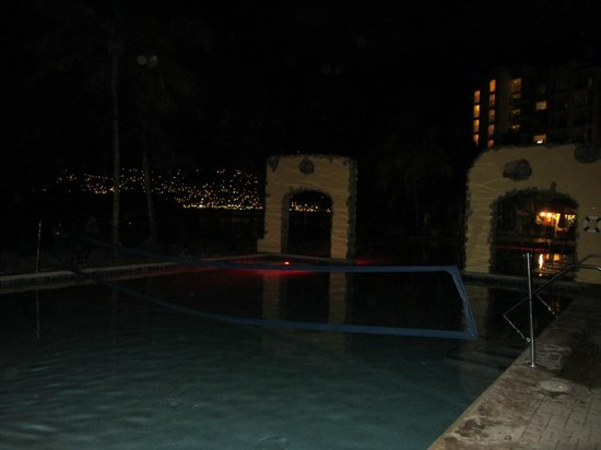 Marriott's Frenchman's Cove:                   The lovely pool at night