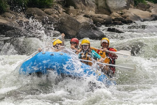 Ohiopyle State Park: Rafting the Youghiogheny