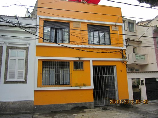 Vista De Frente Do Hostel Picture Of Hostel Tupiniquim Rio De