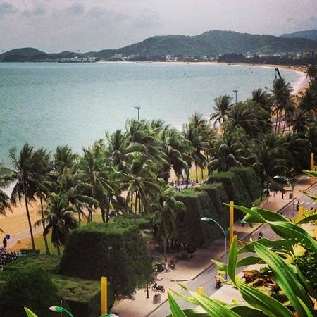 Sheraton Nha Trang Hotel and Spa :                                     the view from the pool