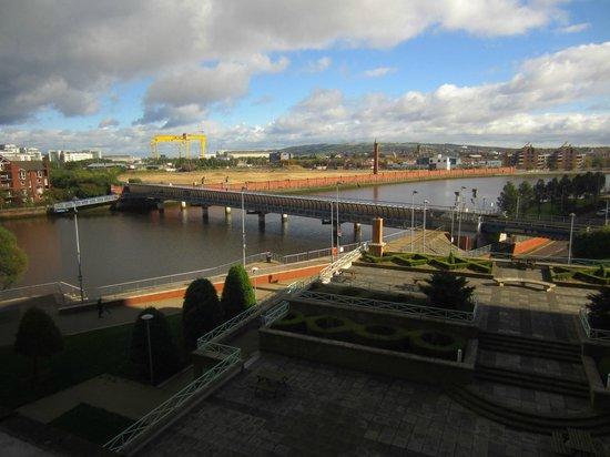 Hilton Belfast: nice view