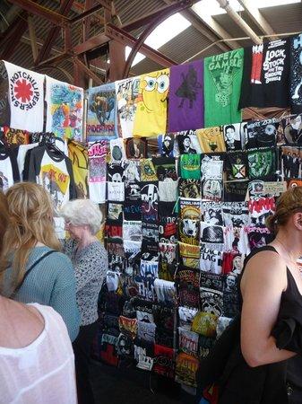 Queen Victoria Market:                   More shopping!
