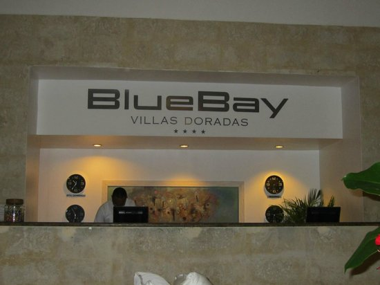 BlueBay Villas Doradas Adults Only:                                     Resception Desk