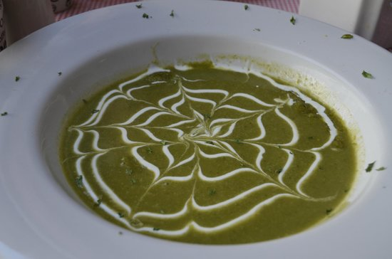 La Albufera:                   Cream of Cilantro soup
