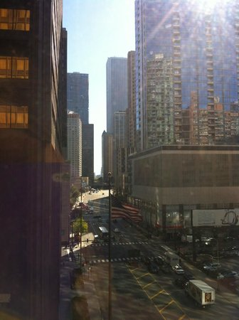 Doubletree by Hilton Chicago Magnificent Mile:                   View from room