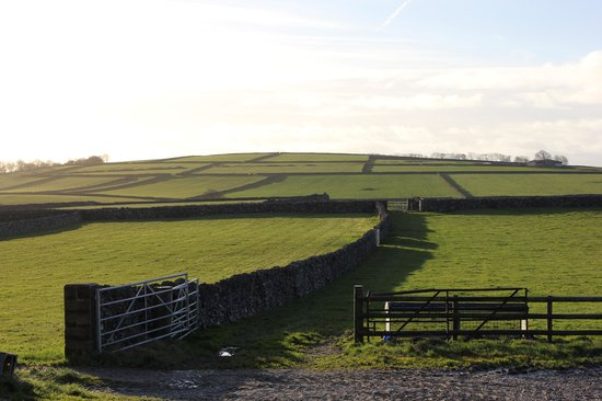 Litton, UK: View from the farm