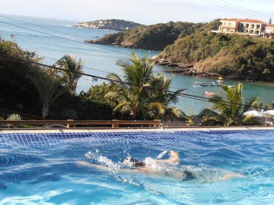 Hotel Ville La Plage:                   piscina do hotel , e que vista hem