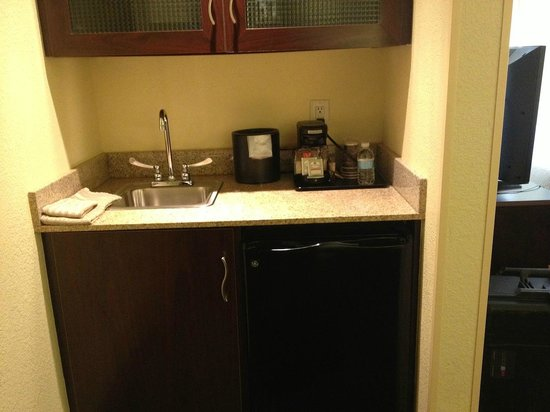 SpringHill Suites Savannah Airport: Microwave Mini-Fridge