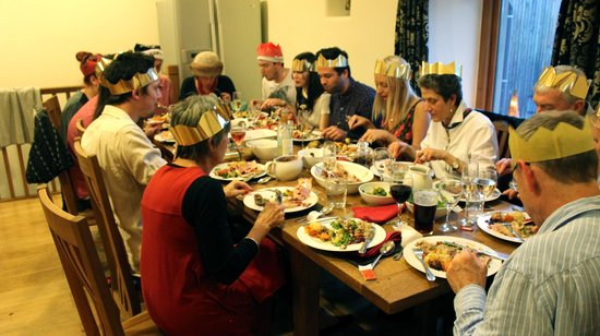 Litton, UK: Dining Room