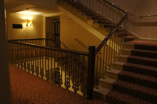 The Imperial Hotel:                   Stairway