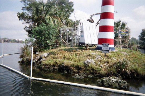Homosassa Riverside Resort:                                     Monkey Island at the Riverside Resort