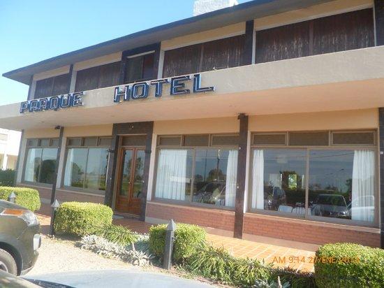 Parque Hotel Laboulaye: Entrada principal