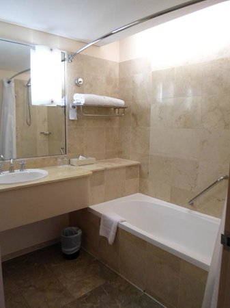 Holiday Inn Potts Point - Sydney:                   Marble Bathroom
