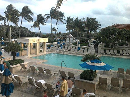 Delray Beach Marriott:                   View from Room Window