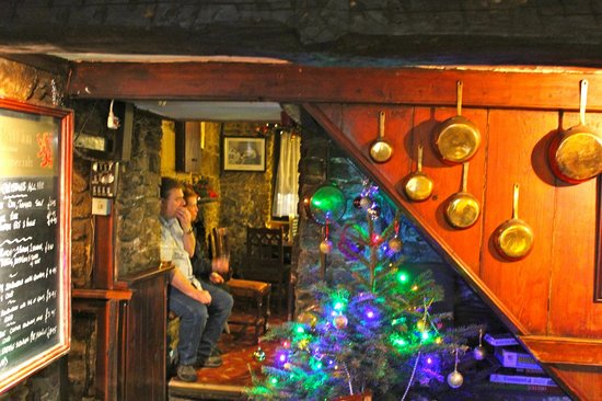 Litton, UK: Christmas