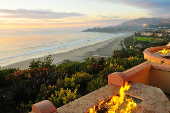 The Ritz-Carlton, Laguna Niguel:                   The view from Room 1506 at sunset