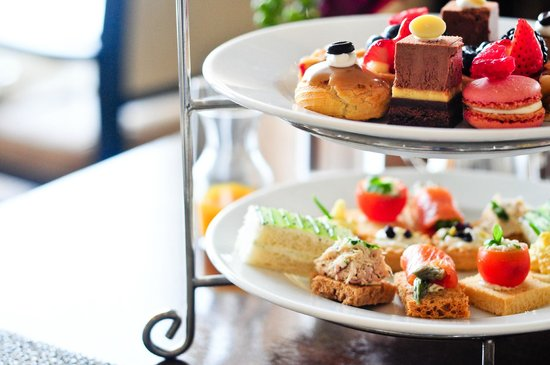 The Ritz-Carlton, Laguna Niguel:                   High Tea at The Ritz Carlton
