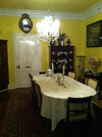 Bryant House Bed & Breakfast:                   Dining Room