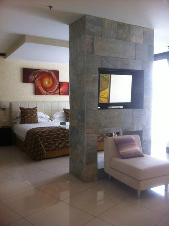 The Royal Corin Thermal Water Spa & Resort:                   Our room