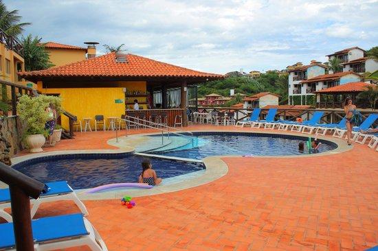 Rio Buzios Beach Hotel: Vista de la pileta