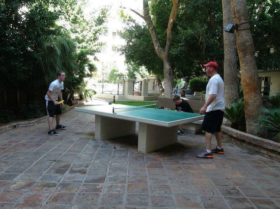 Arizona Grand Resort & Spa:                   One of a few ping pong tables